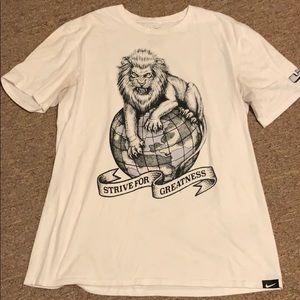 Nike lebron tee shirt
